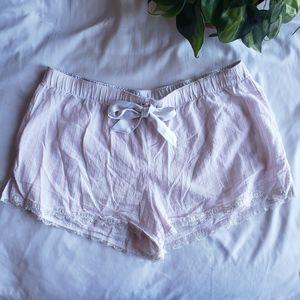 Victoria's Secret Cotton Striped Sleep Shorts - S